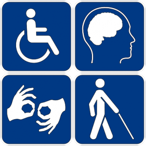 Americans with Disabilities Sign