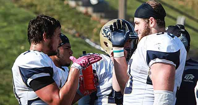 In 2009, the Gallaudet Bisons became a founding member of the Eastern Collegiate Football Conference (ECFC), and began more aggressively recruiting not just deaf players, but hard-of-hearing and fully hearing prospects too.